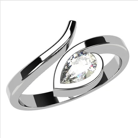 White gold 18k-Diamond