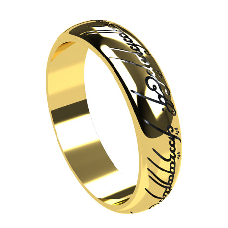 Lord of the rings gold Ring