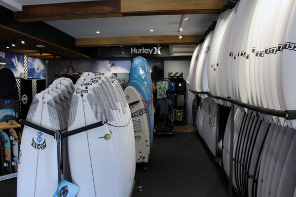 Trade in surfboards