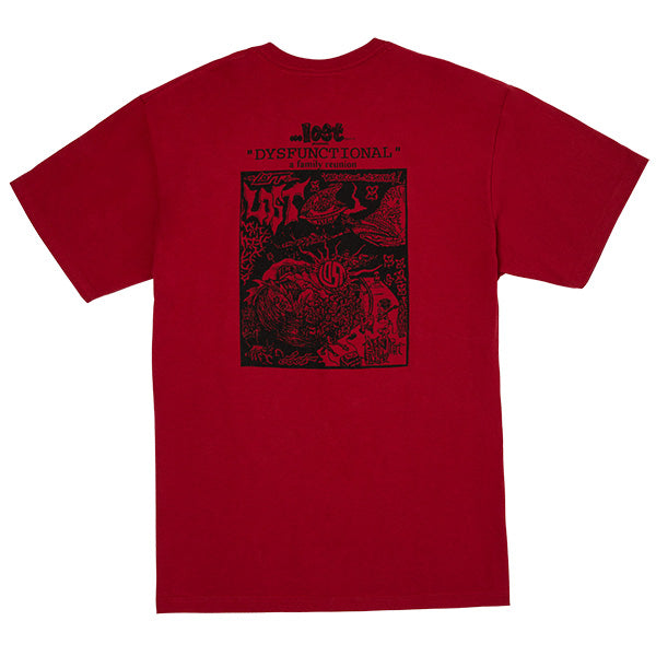 Dysfunctional Family Tee Red