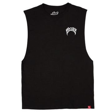 Mayhem Logo Muscle Black