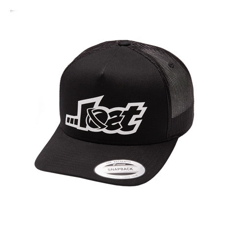 Lost Logo Trucker Black