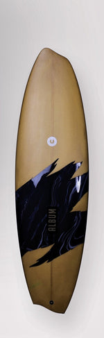 "Diasym Regular 5'8"" x 18.75"" x 2.38"" = 28L"