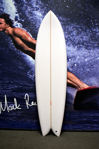 7'0 Long Phish w/ glass in keel fins
