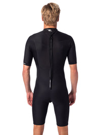 Dawn Patrol 2mm Back Zip Short Sleeve Spring Suit