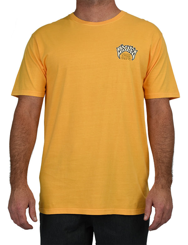 Deadly Shapes tee Yellow