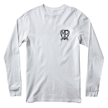 ROTD long sleeve tee white