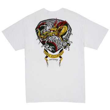 Return of the dragon Tee White