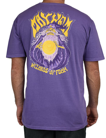 Wizards of Foam Tee Purple