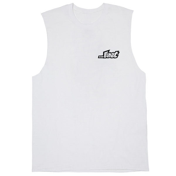 Lost Logo Muscle White