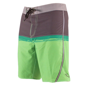 Resin Split Boardshorts Green