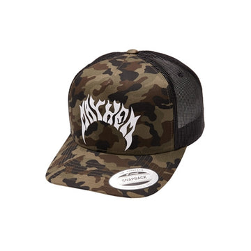 Mayhem Logo Trucker Camo