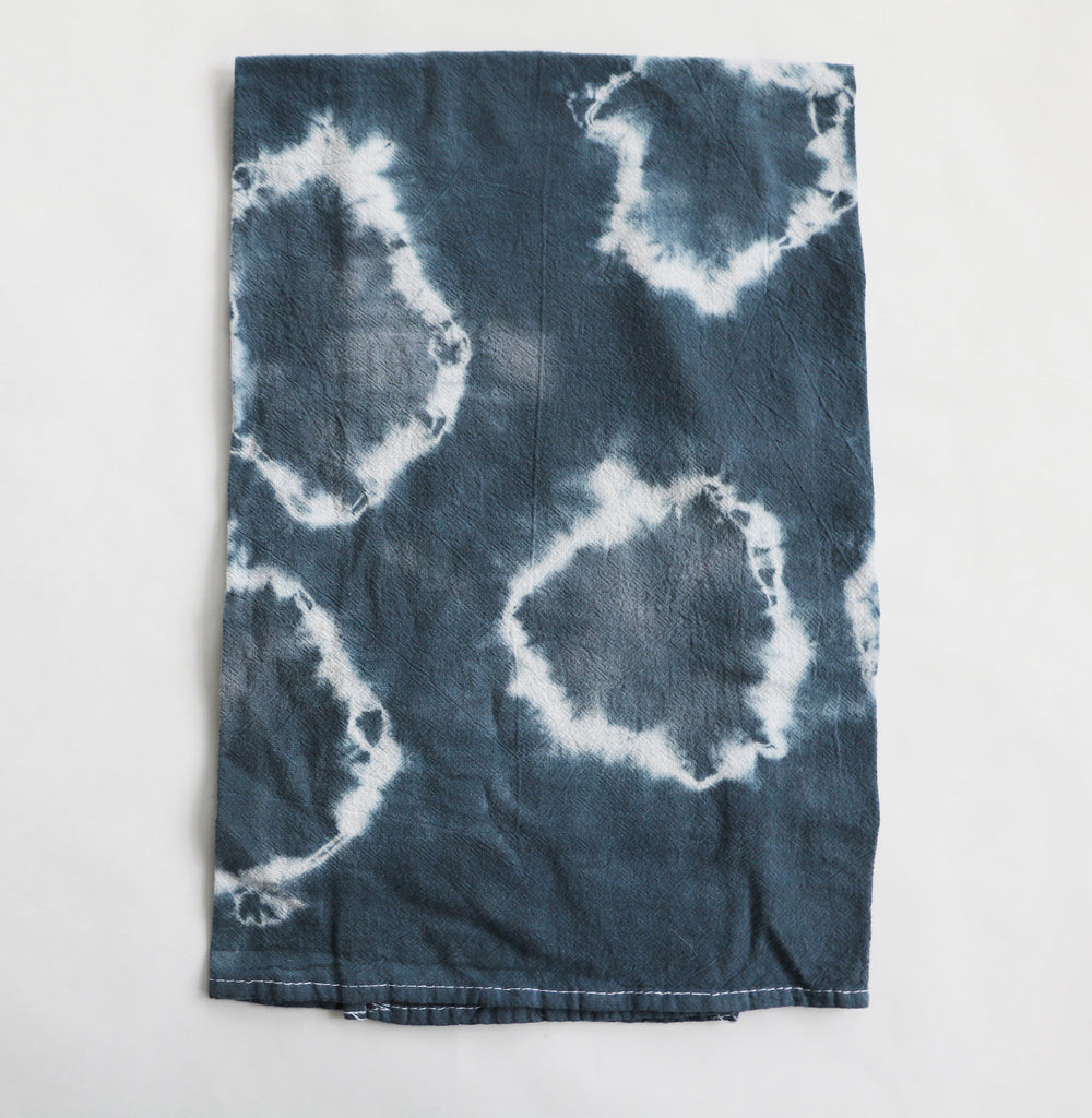 Dark Blue Tea Towel