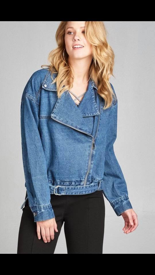 Trend Watch; Hot or Not - Oversized Denim Jacket