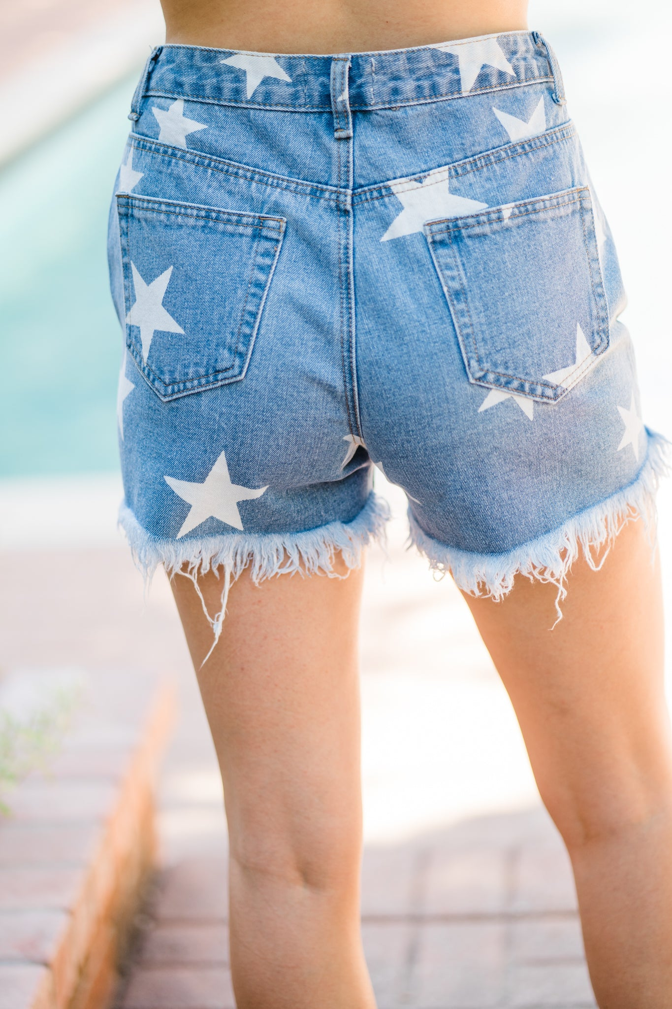 Star Spangled Cuttoffs - Pistols and Petticoats