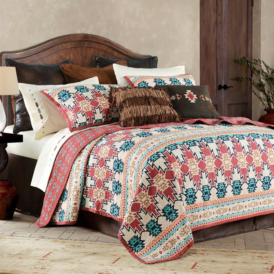 Phoenix 3 Piece Quilt Set in Queen