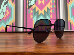 Jaden Sunnies in Dark Horse Black
