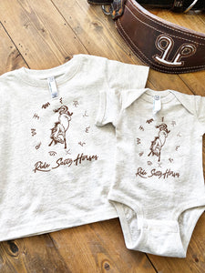 Ride Salty Horses Baby/Toddle/Youth Graphic Tee
