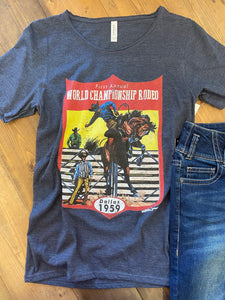 World Championship Rodeo Graphic Tee