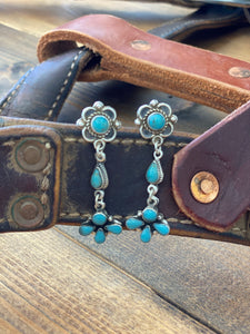 Authentic Turquoise Dangle Earrings