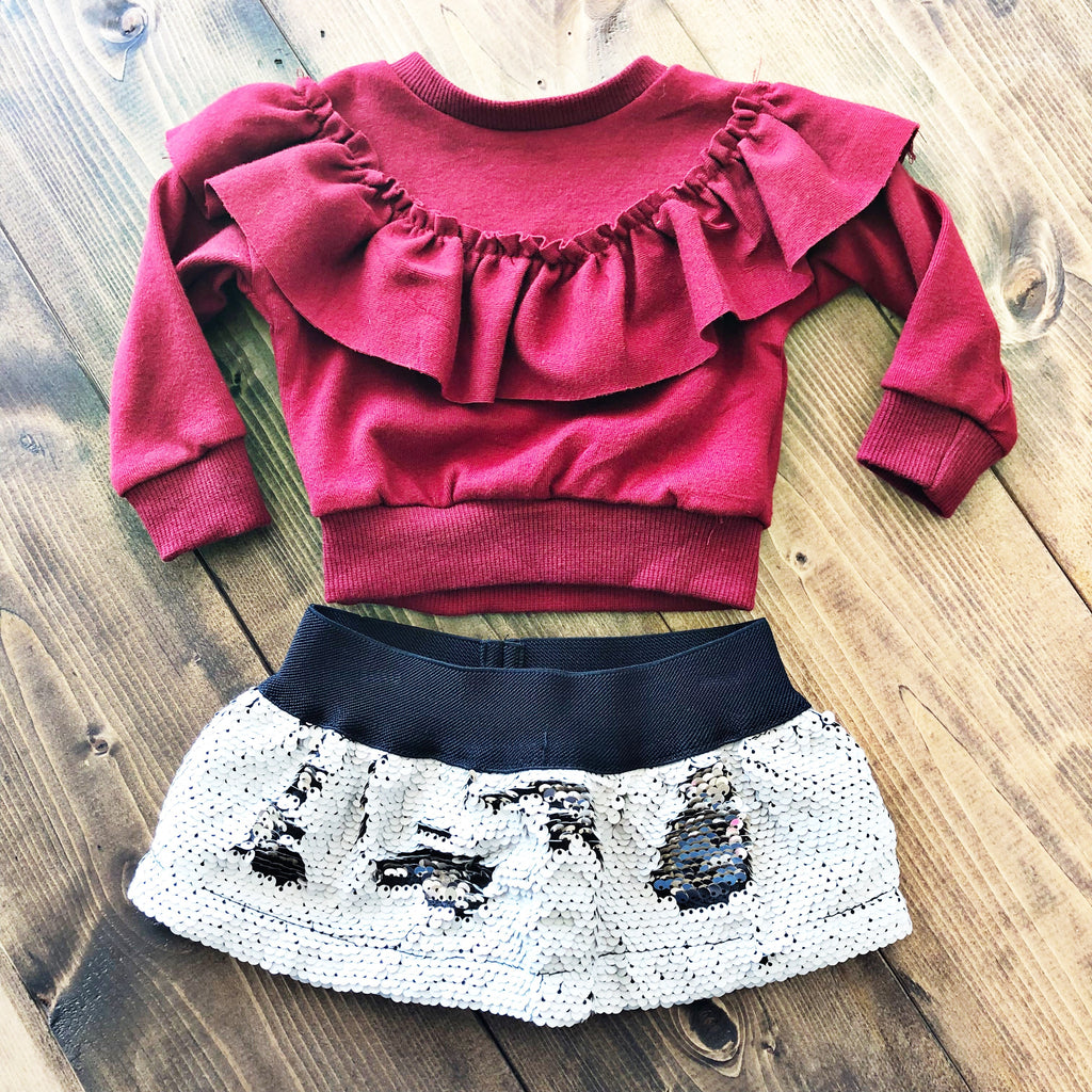 Magic Sequin Skirt - Pistols and Petticoats