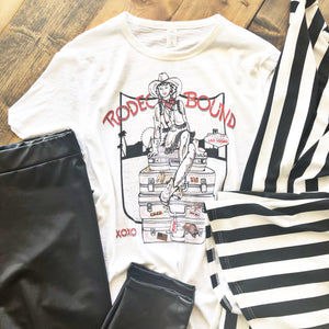 Rodeo Bound Graphic Tee - Pistols and Petticoats