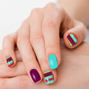 Morado Nail Polish Strips from Dusti Rhoads
