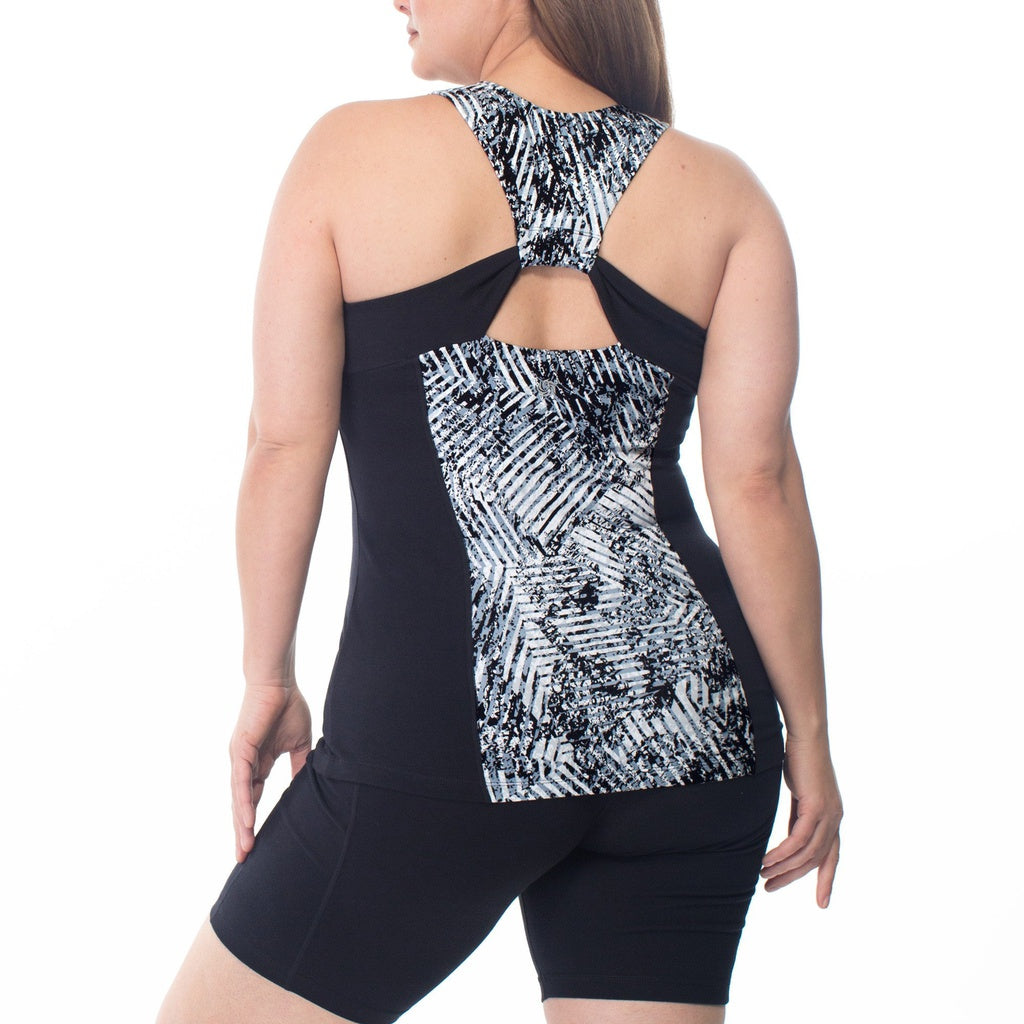 Emma Print Tank in Women - Apparel - Plus - New York Black Dress
