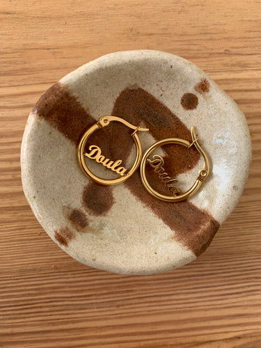 DOULA DELICATE EARRINGS GOLD