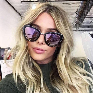Women Cat Eye Designer Anti-Reflective Sunglasses. (6 Colors Available)