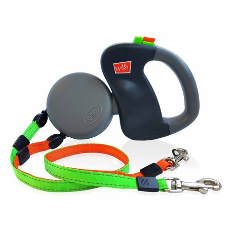 Dual Doggie Retractable Leash (Individual Retract Control Double Leash)