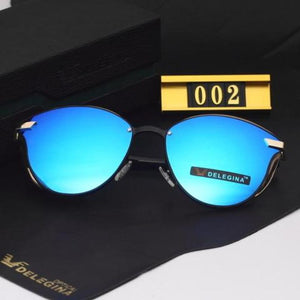 Women Fashion Cat Eye Designer Polaroid Sunglasses. (Alloy Frame + 6 Colors Available)