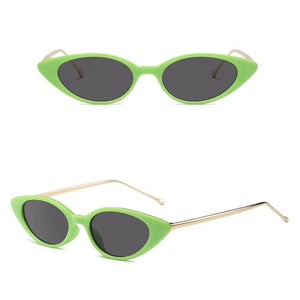 Retro Oval Cat Eye Vintage Sunglasses. (8 Styles Available)