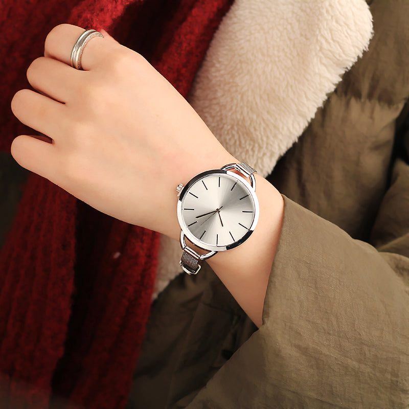 European Style Stainless Steel Shock Resistant Wristwatch. (8 Colors Available)