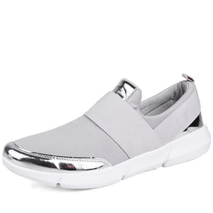 Designer Brand Round Toe Stretch Fabric Loafers. (5 Colors Available)
