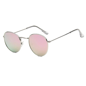 Women Luxury Round Designer Sunglasses. (Alloy Frame + 9 Colors Available)