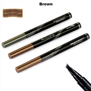 Long Lasting Waterproof Micro-Blading Natural Eyebrow Tattoo Pen. (3 Colors Available)