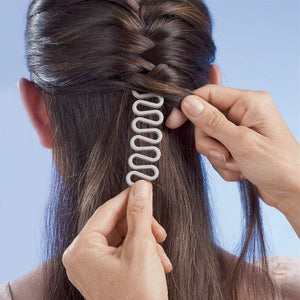 Women Magic Curler Hair Braiding Tool Set By Uvenux. ( 4Pcs Set And 2Pcs Set Available )
