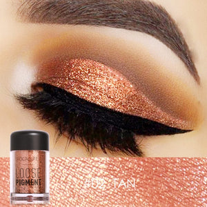 Eye Shadow Glitter Pigment Powder. Focallure By Uvenux (18 Colors Available)