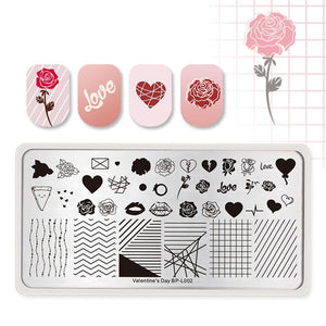 Multi-Pattern Nail Art Stamping Plates By Uvenux (Buy 3+ And Get Free Shipping)