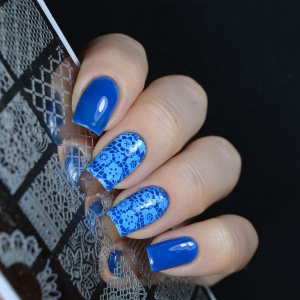 Multi-Pattern Nail Art Stamping Plates By Uvenux.