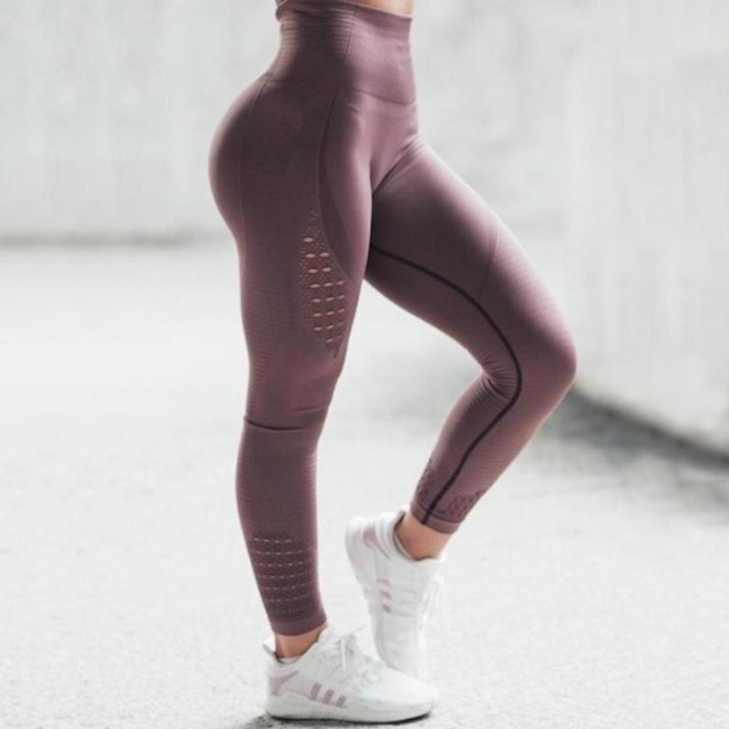 High Waist Ultra Stretch Seamless Sports Leggings. (8 Colors Available)