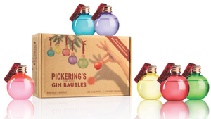 Pickerings Gin-Filled Christmas Baubles