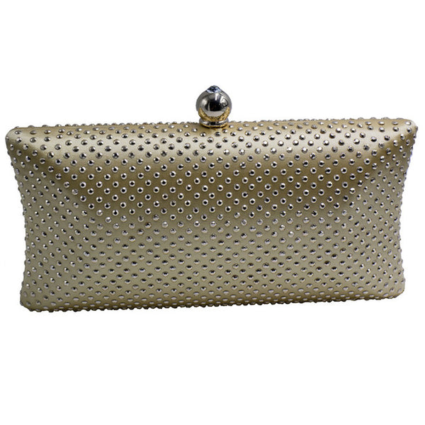 Rhinestone Crystal Wedding Evening Bag