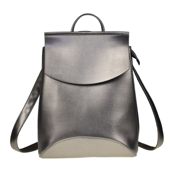 High Quality PU Leather Backpacks for Female