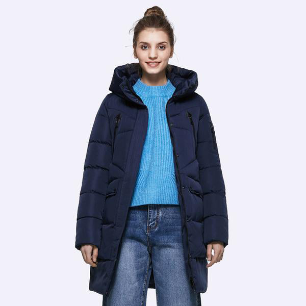 100% Polyester Soft Fabric Bio Down Jacket