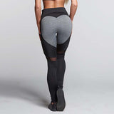 Push Up Ladies Mesh  Love Heart Leggings