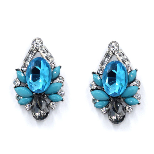 Hot sale women vintage statement stud Earrings