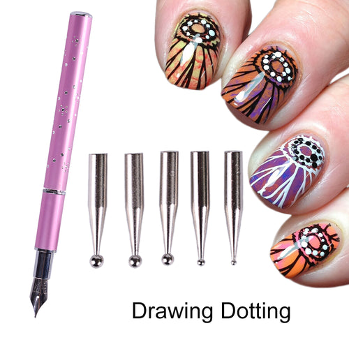Stainless Steel Nail Art Pen
