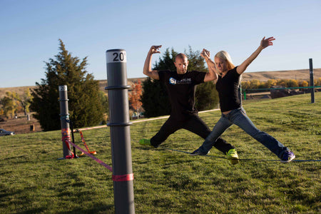 Rule change in the works to allow slacklining in Boulder
